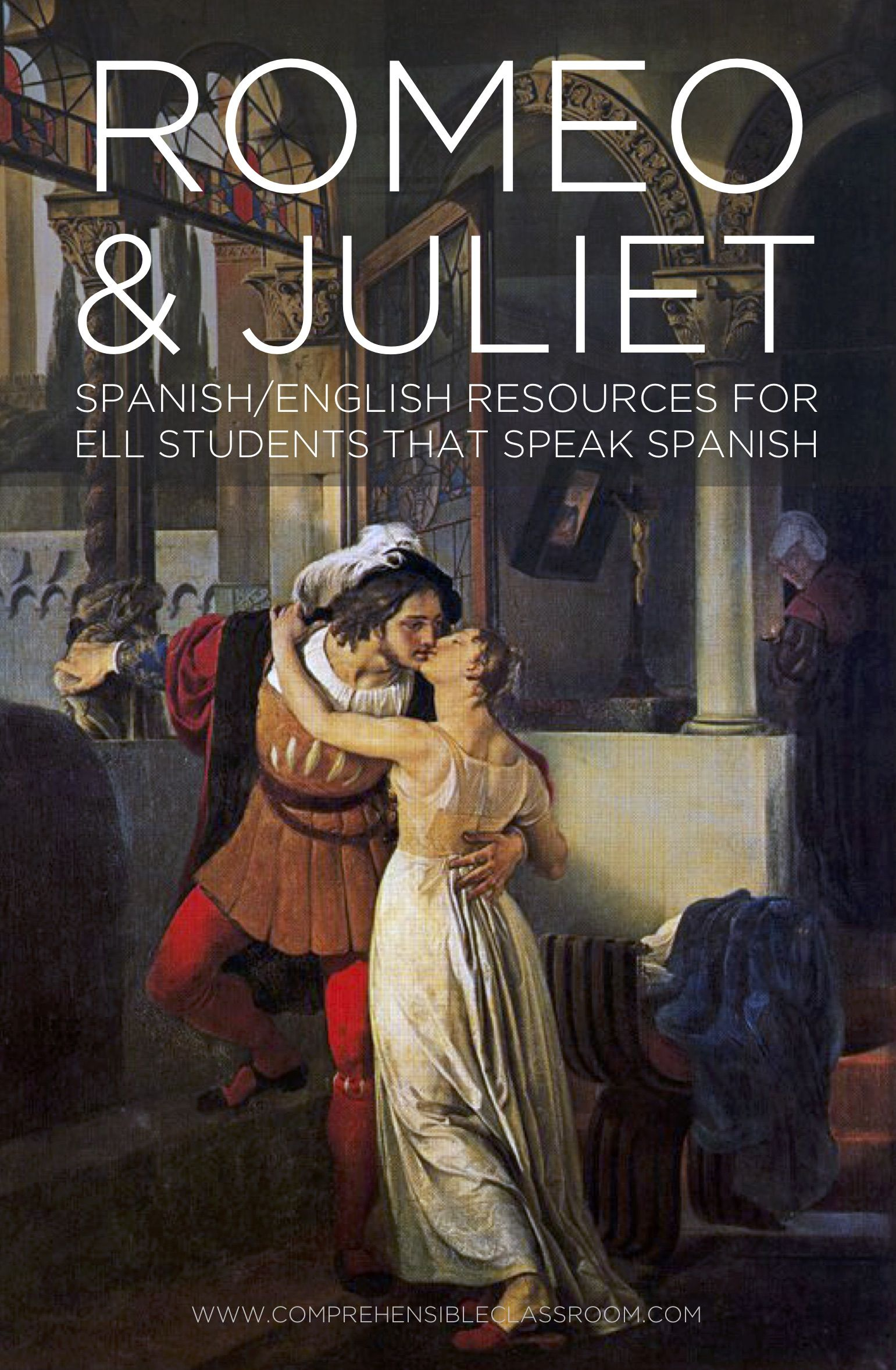 Romeo And Juliet Act 1 For Esl Students That Speak Spanish How