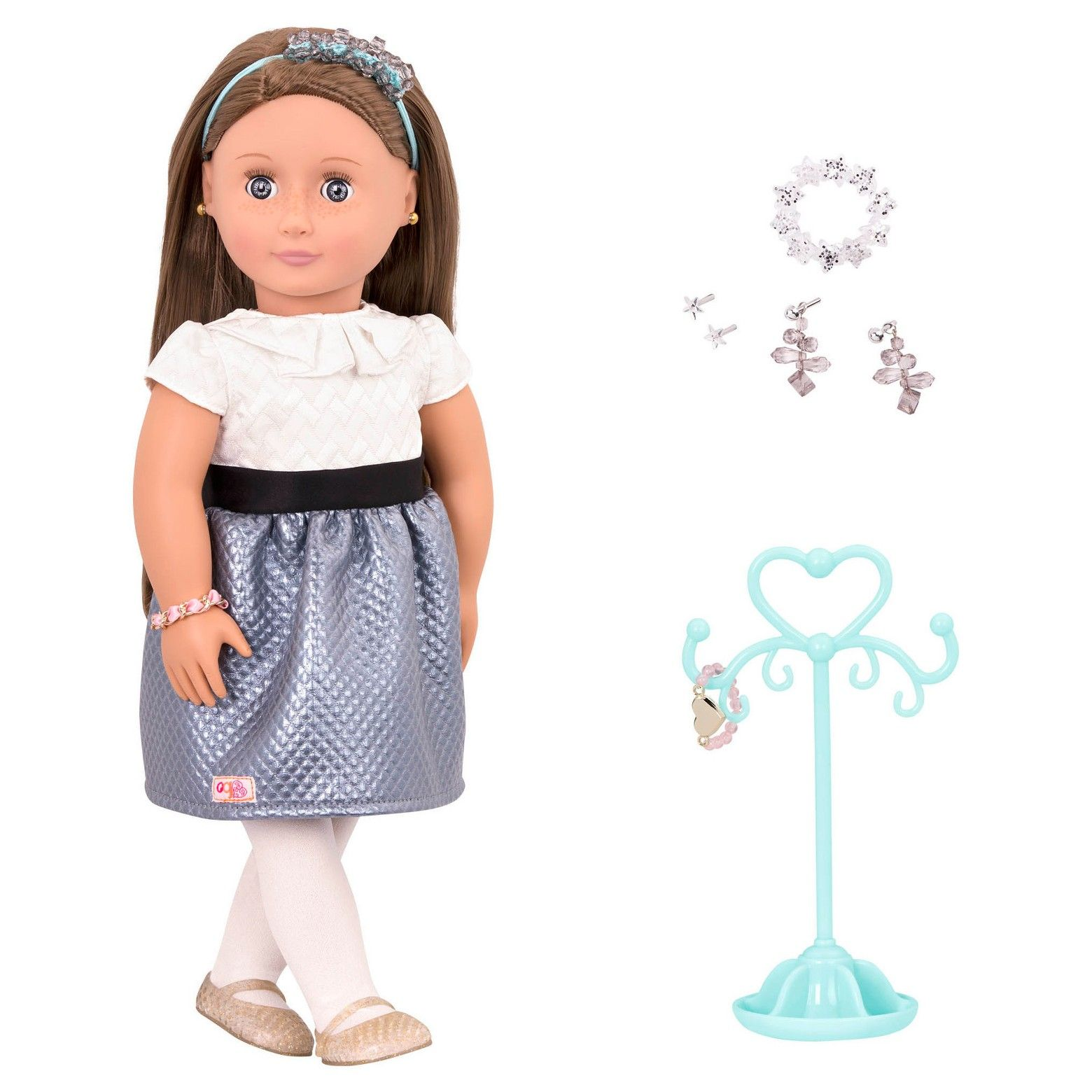 Our Generation Jewelry Doll Aliane Target Generation
