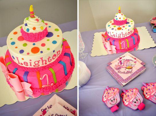 cupcake themed 1st birthday girl birthday cake ideas birthday