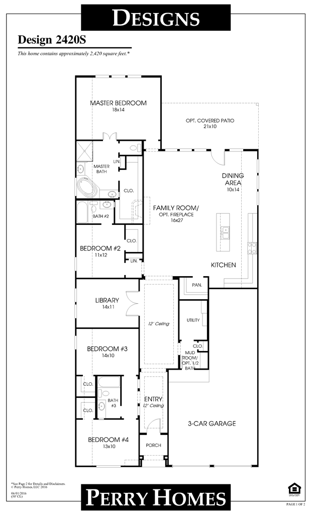 Mobile Perry Homes Floor Plans In 2019 Perry Homes