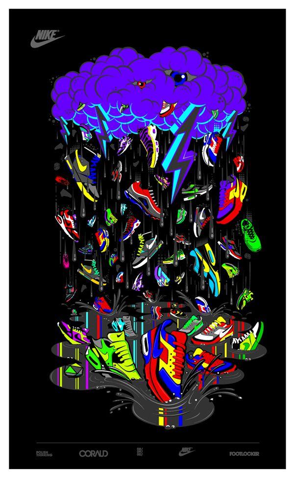 Black Nike Aesthetic Wallpaper
