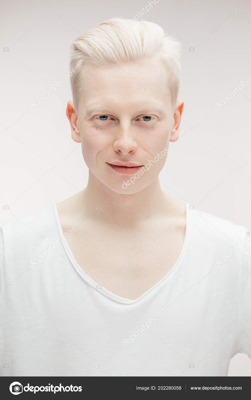 Men With Natural White Blonde Hair