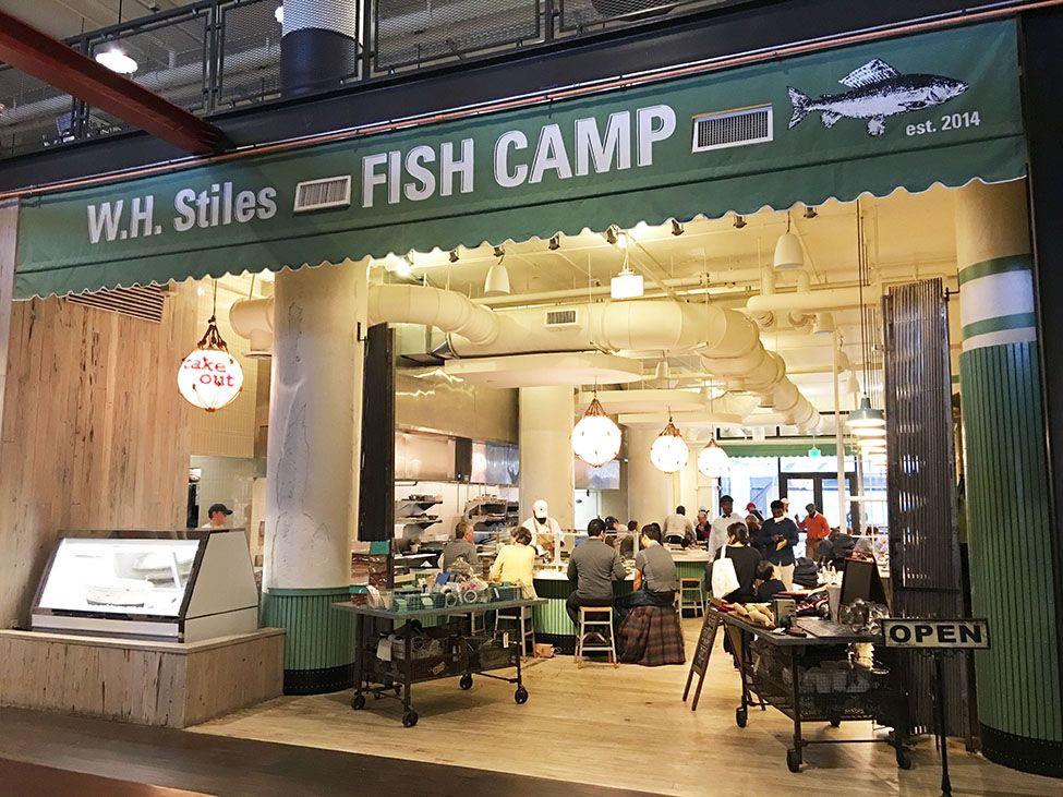 W H Stiles Fish Camp Ponce City Market Atlanta Atlanta
