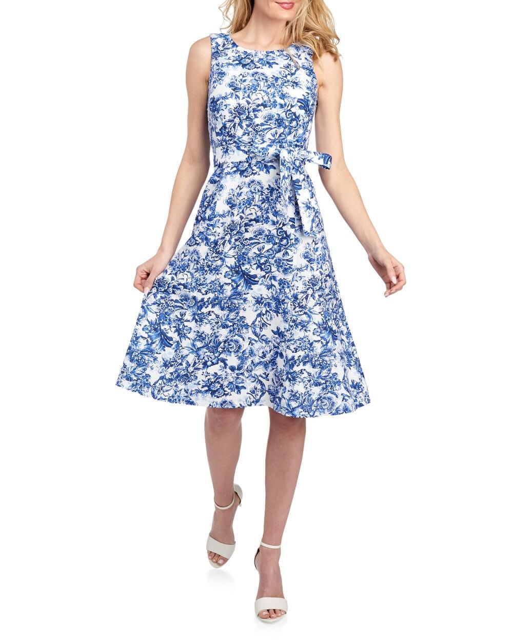 Floral Fit Flare Midi Dress Stein Mart In 2020 Fit And Flare Dress Midi Dress Floral Fit [ 1250 x 1000 Pixel ]