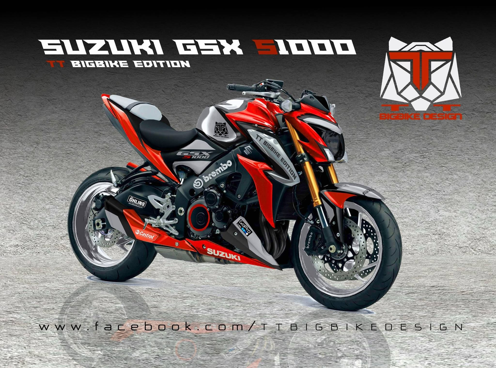 suzuki gsx s 1000 by tt bigbike design suzuki gsx s1000f. Black Bedroom Furniture Sets. Home Design Ideas