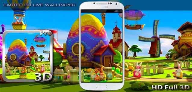 Easter 3D Live Wallpaper La Pasqua arriva (alla grande