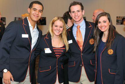 Very preppy Syracuse University blazers custom designed by