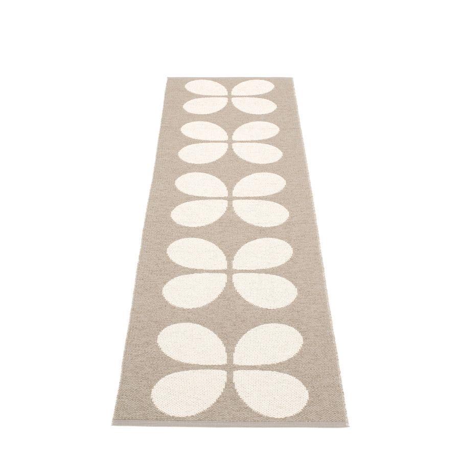 Aki Mud Vanilla Plastic Rug 70 Cm Wide Skapad Med Passion Och  -> Aki Carpetes
