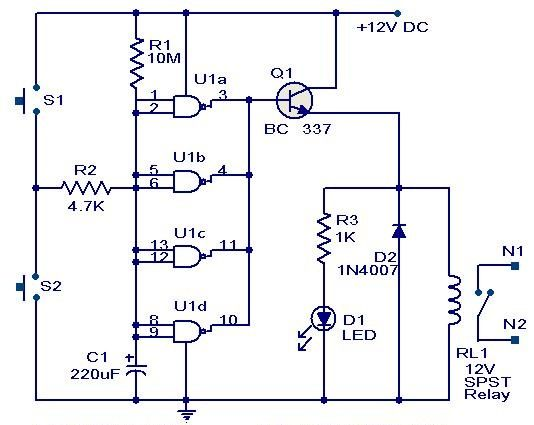 gadgetronicx long duration timer circuit this circuit was designed rh pinterest com