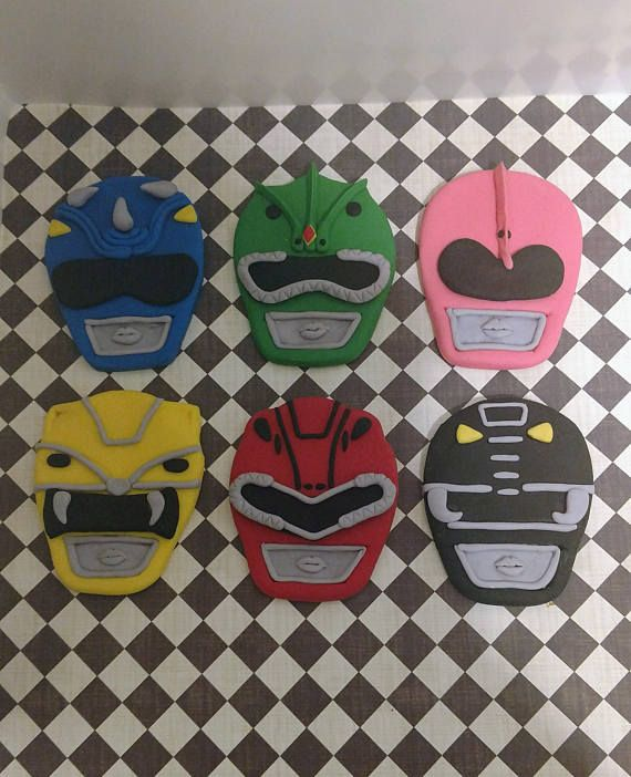 Hey I Found This Really Awesome Etsy Listing At Https Www Etsy Com Listing 523847594 Power Ranger Cake Toppers Power Ranger Birthday Party Power Ranger Cake