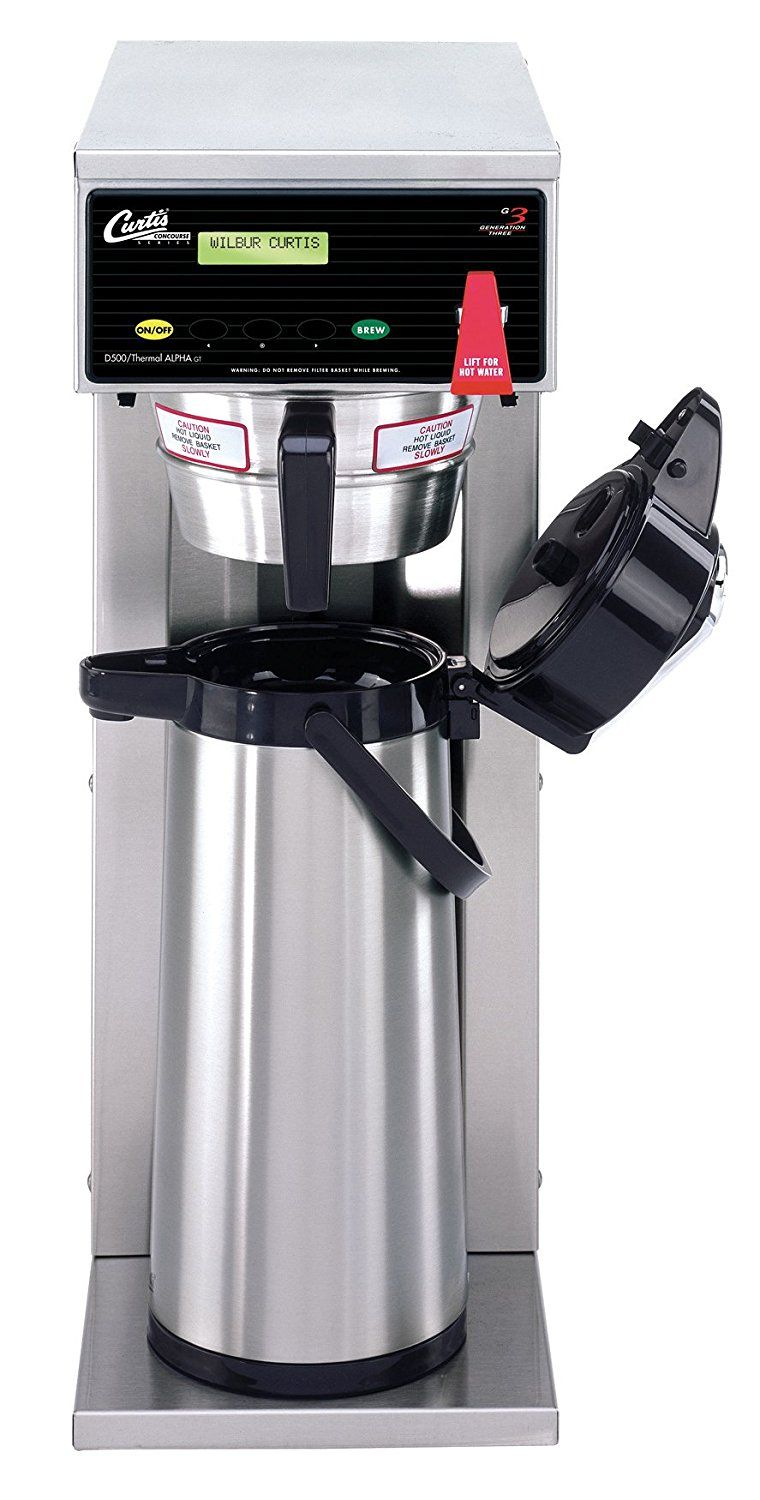 Wilbur Curtis G3 Airpot Twin 2.5L Commercial Espresso Brewer