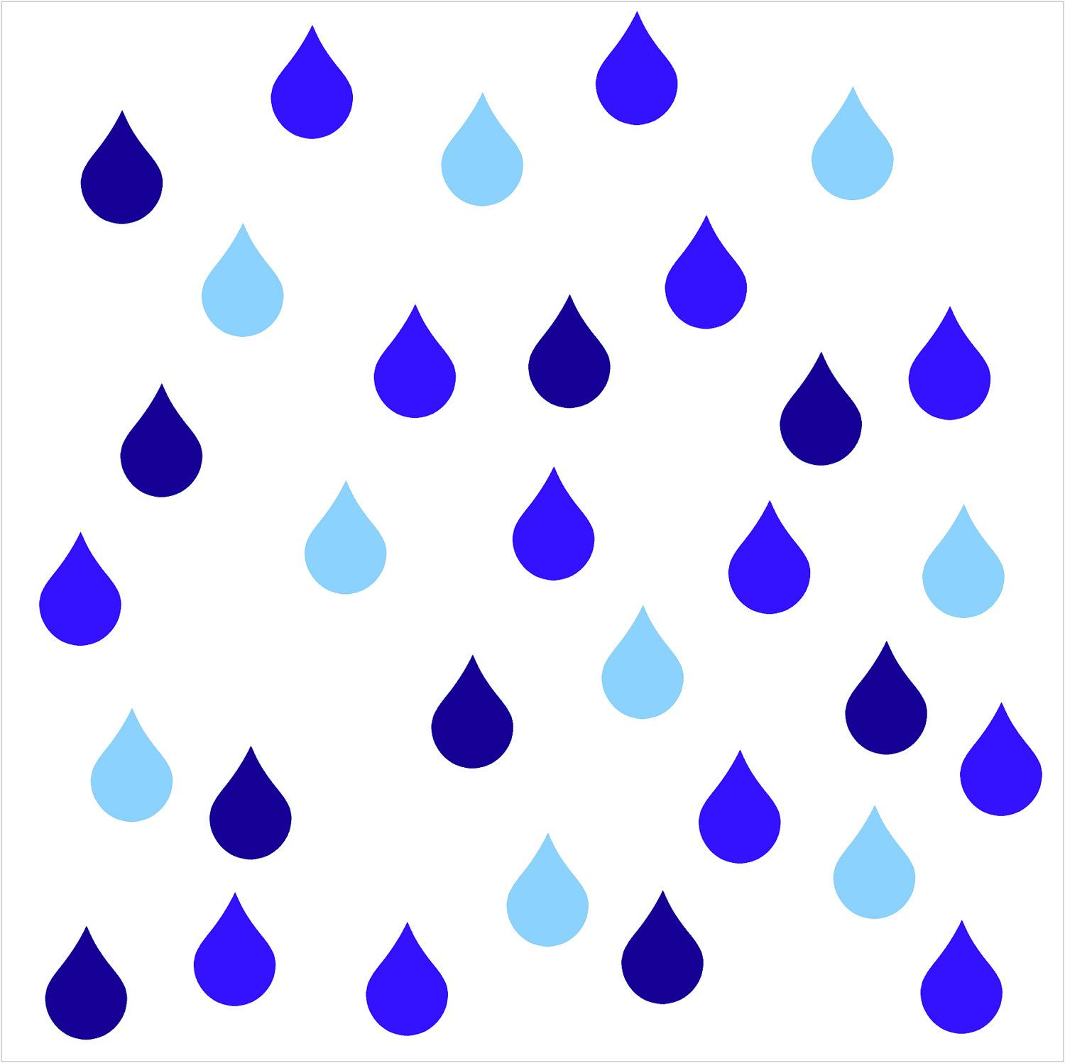 pictures of raindrops clipart best drops pinterest rh pinterest com raindrops clipart images clipart raindrops falling