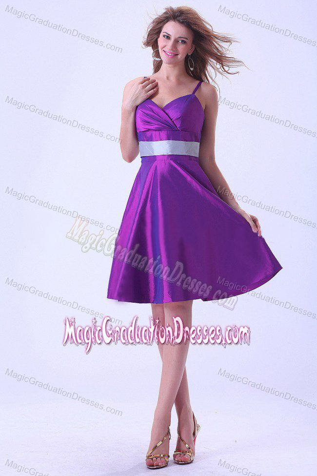 Purple Spaghetti Straps Short Junior Grad Dress in Nuevo Laredo ...