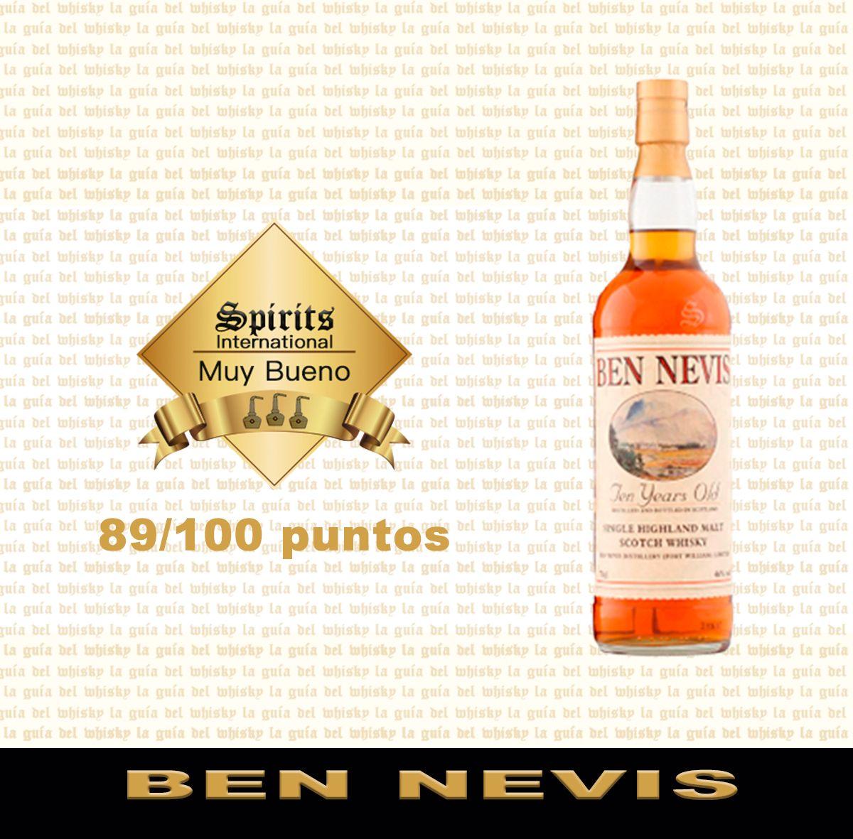 CONOCE BEN NEVIS es una destilería escocesa que produce