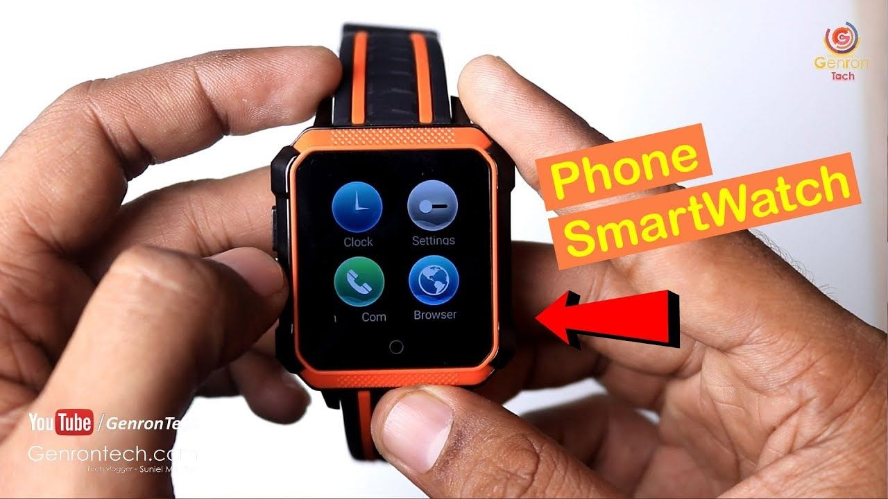 Smart Watch Microwear H7 4G Smartwatch Phone Review