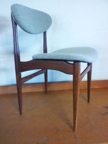 Magnificent Danish Mid Century Refurbished Vintage Dining Chairs 6 In Gamerscity Chair Design For Home Gamerscityorg