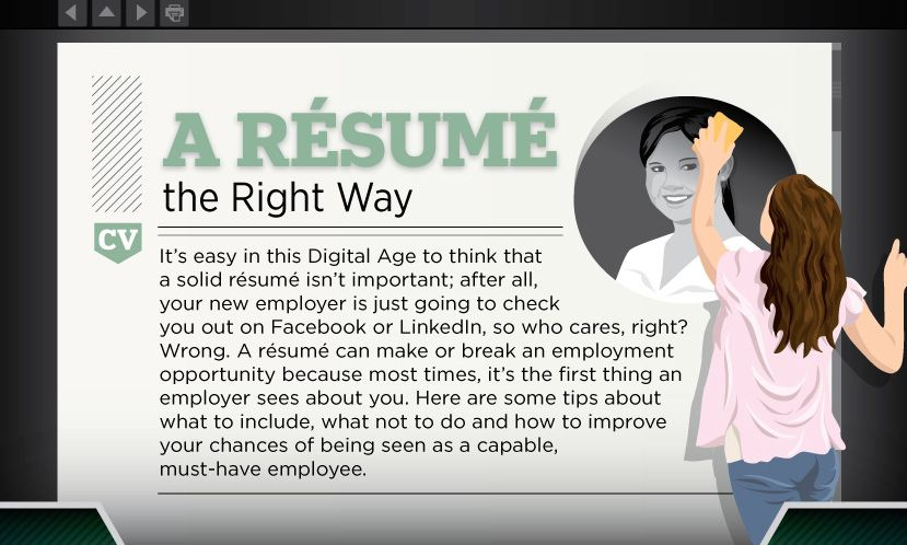 How to build a resume the right way infographic resume