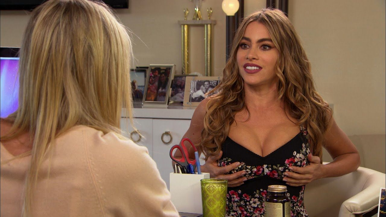 Sofia vergara breast real