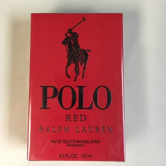 Ralph Lauren Polo Red Cologne 4.2 oz EDT For Men! Ralph Lauren Polo Red 4.2 oz 125 ML Eau De Toilette For Men, brand new sealed in its box never been opened, fast and immediate shipping, contact me if you have any questions comments or concerns, thank you in advance for your business! Ralph Lauren Other