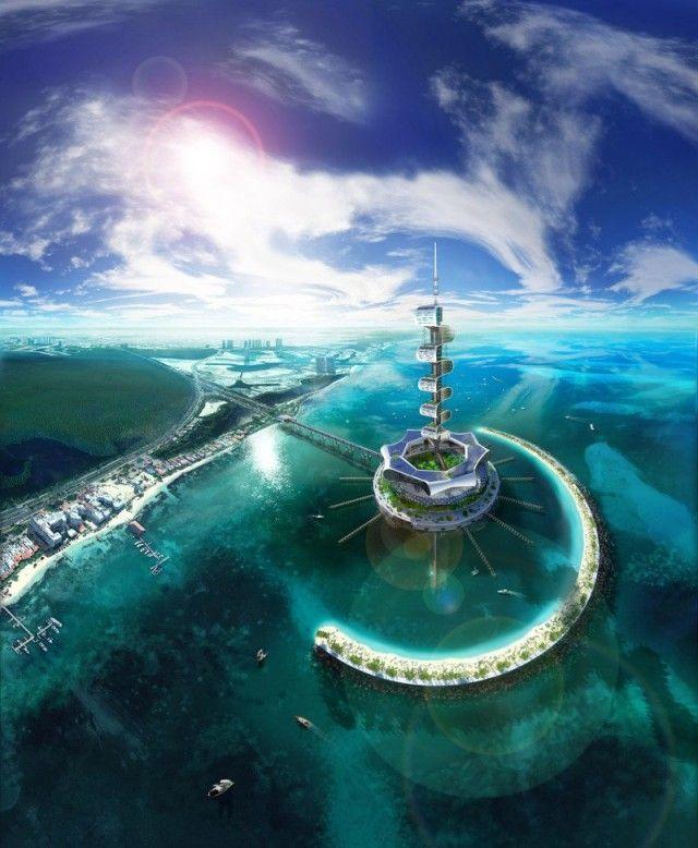 02-Grand Cancun Eco Island by Richard Moreta Castillo