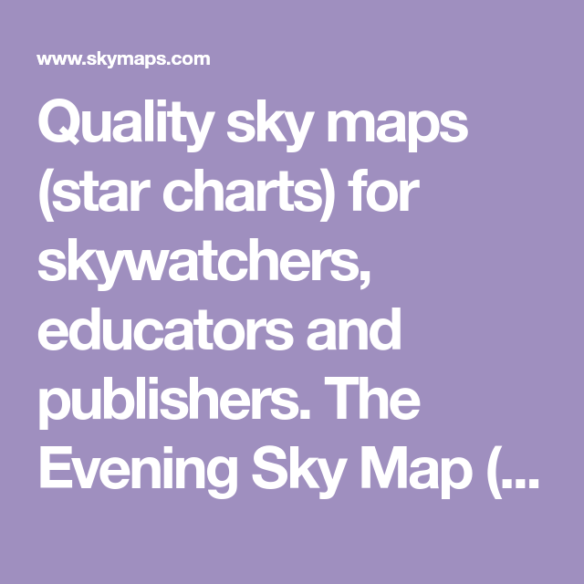Treasure Planet Star Map.Quality Sky Maps Star Charts For Skywatchers Educators And