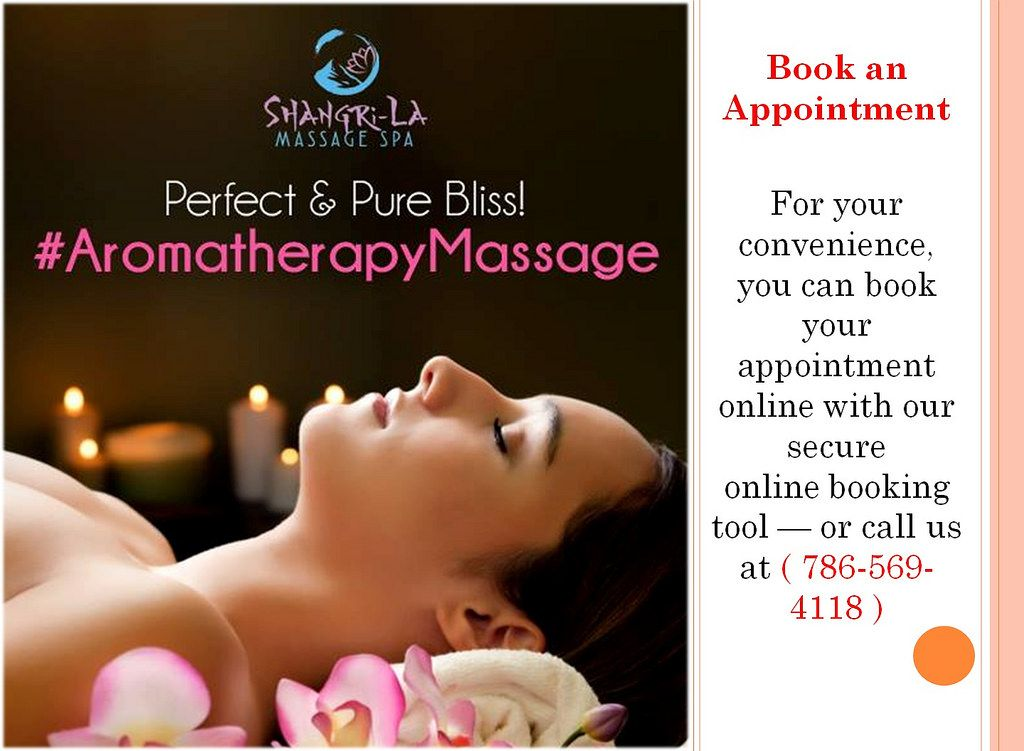 Sensual Massages In Miami