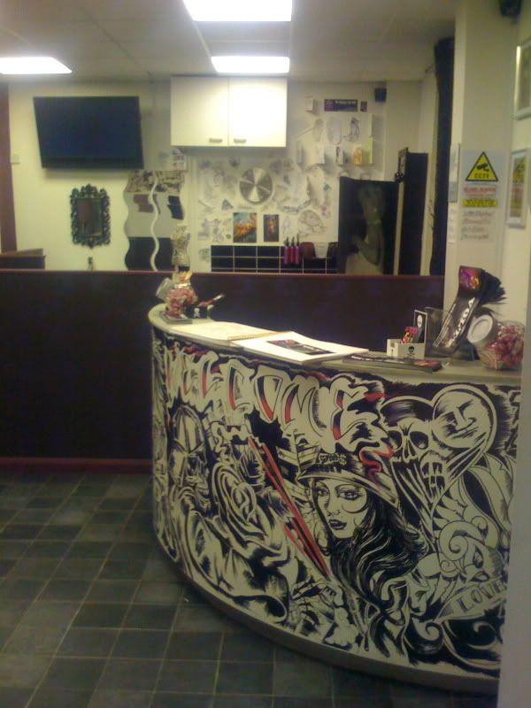 tattoo shop interior design. Voltz Custom Tattoo is a New Studio ...