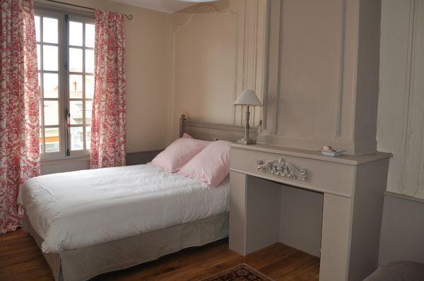 chambre jouy, rose gris et beige | Chambre | Pinterest