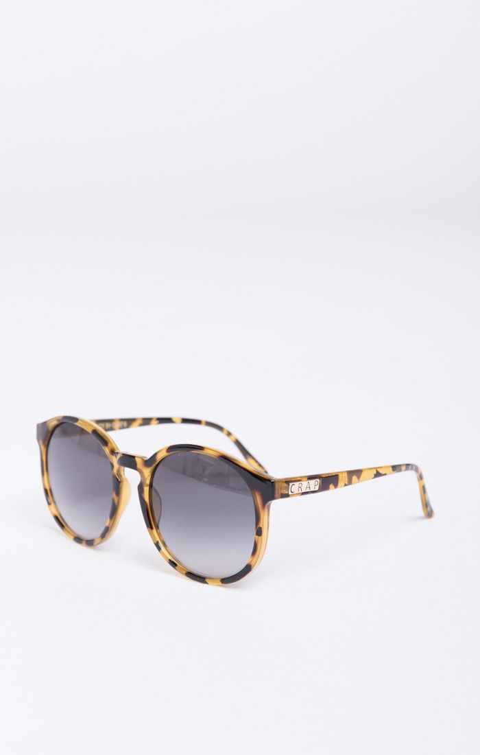 b11e2491d76 Crap Eyewear ~ The Human Fly ~ Gloss Jungle Tortoise with Grey Gradient  Lenses