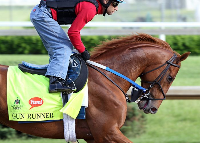 Gun Runner  Daily Racing Form  Love Of My Life