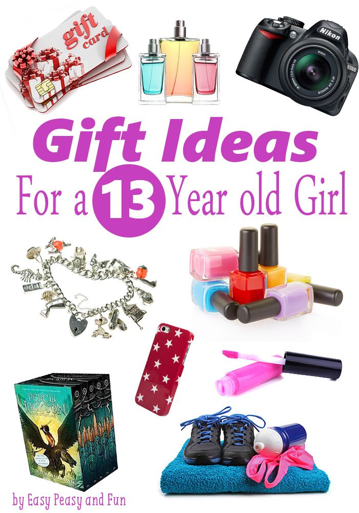 Best Gifts for a 13 Year Old Girl | Easy peasy, Gift and Girls