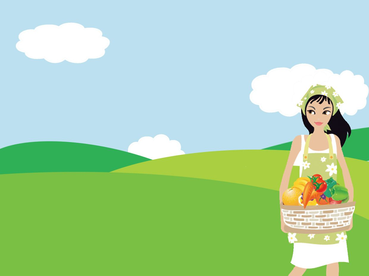 Fppt free garden powerpoint templates with a girl gathering fppt free garden powerpoint templates with a girl gathering some fruits and vegetables toneelgroepblik Choice Image