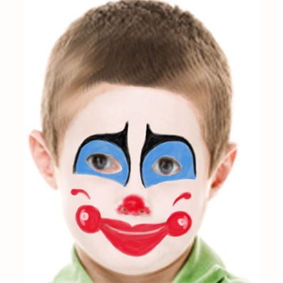 Très maquillage-clown-23.jpg (397×397) | maquillage cirque | Pinterest  AQ26