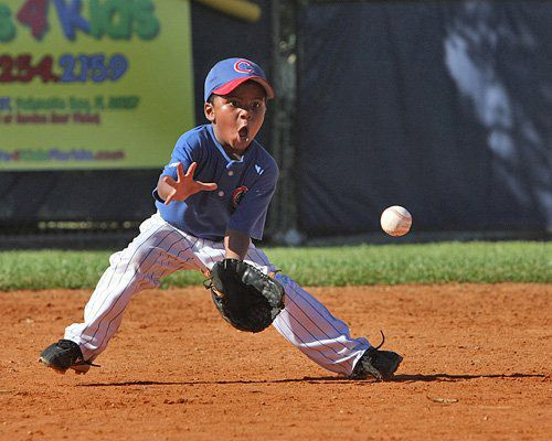 Little League Baseball I loved playing shortstop for my