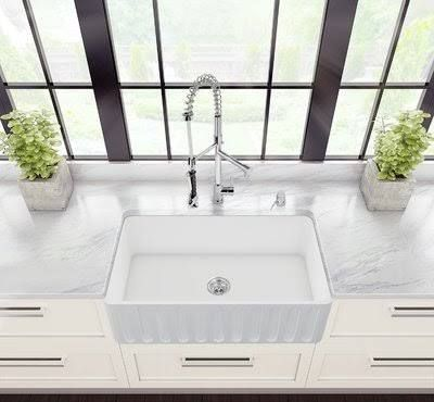 vigo all in one farmhouse sink lowes - Farmhouse Sink Lowes
