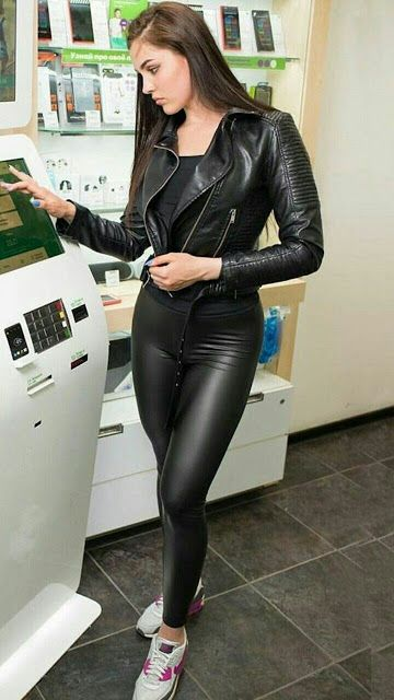 Lovely Ladies In Leather Miscellaneous Leather 98 Tight