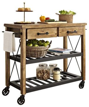 Roots Rack Kitchen Cart Farmhouse Islands