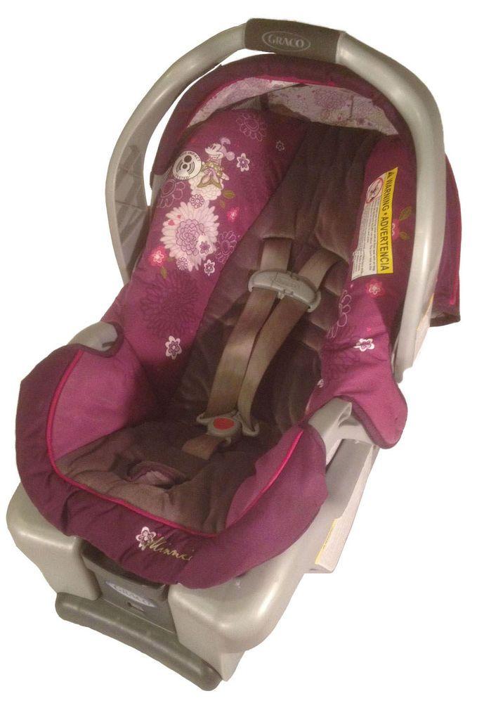 Graco+SnugRide+30+Classic+Connect+Infant+Car+Seat+w/+Disney+Minnie+ ...