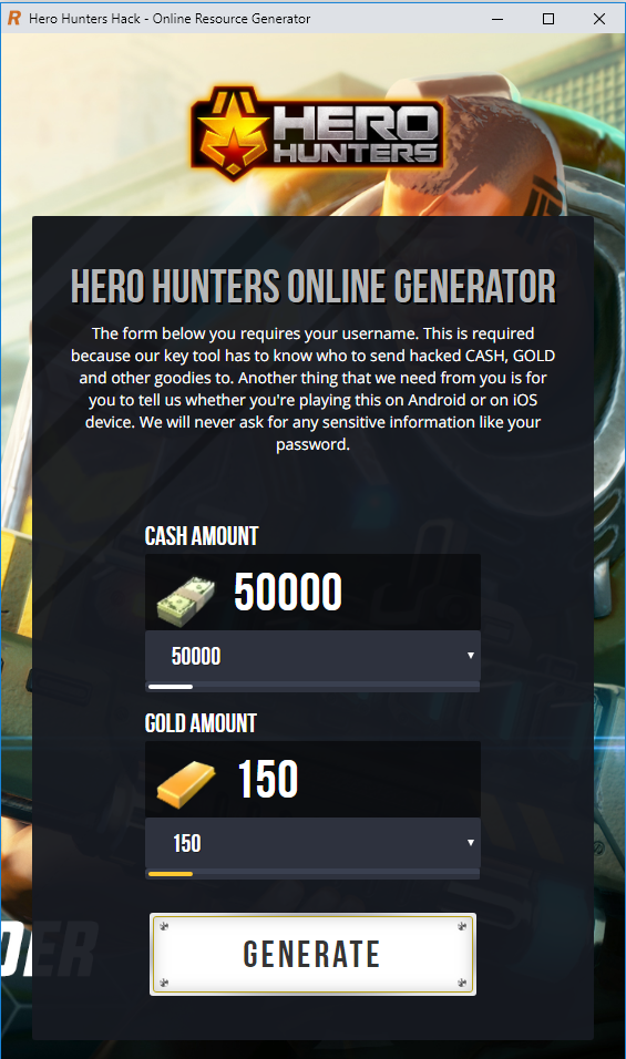 Hero Hunters Hack And Cheats Online Generator For Android And Ios