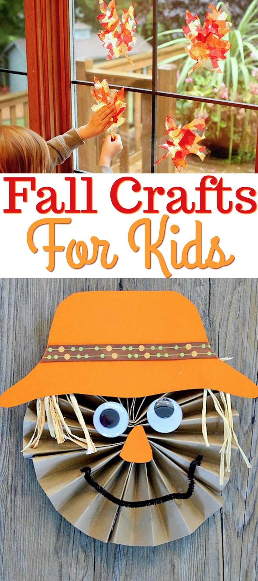 Fall Crafts For Kids Fall And Thanksgiving Ideas And Food