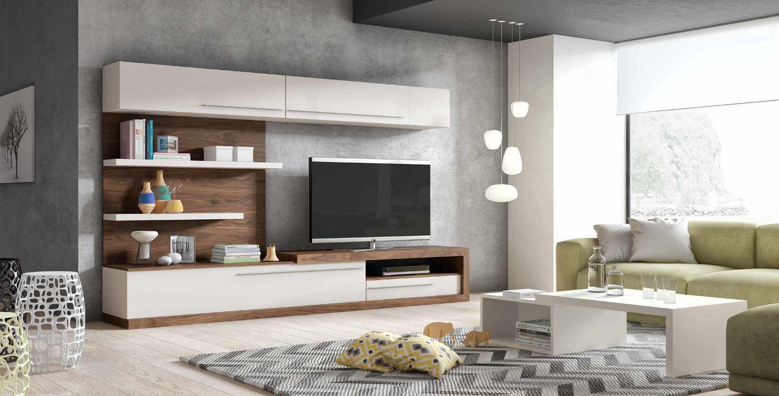 Mueble de sal n netro 11 mesegu en 2019 sala muebles - Muebles salon modernos ...