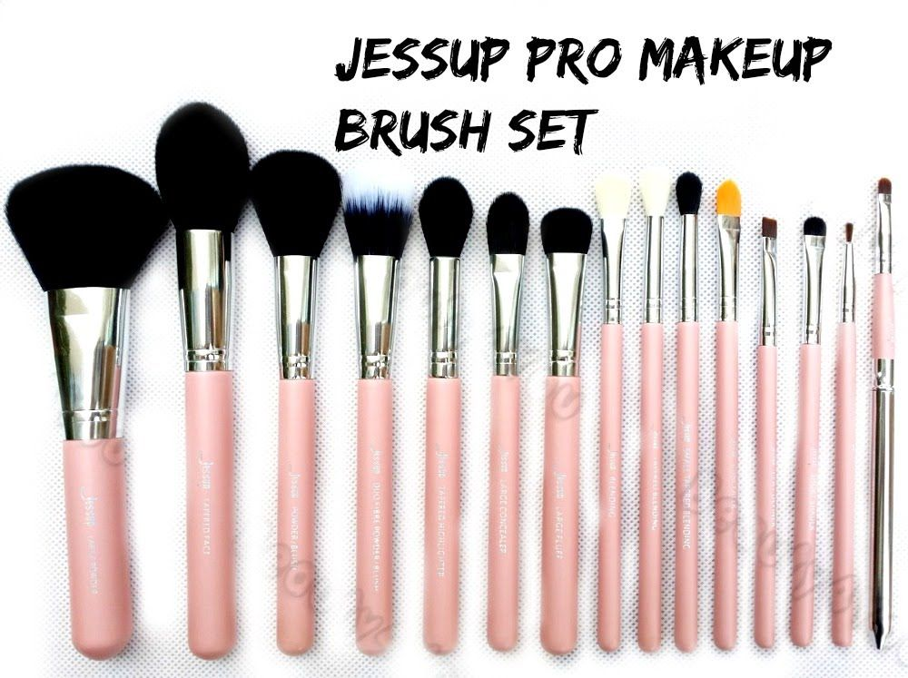 EBAY JESSUP brushes Review & Demo +GIVEAWAY SAZY