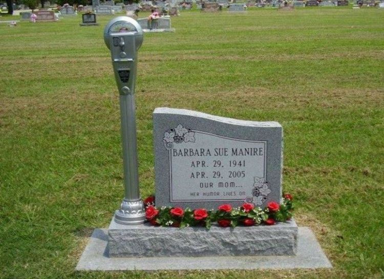 Cool And Creative Gravestones | Here's the good stuff... | Pinterest |  Creative, Cemetery and Graveyards