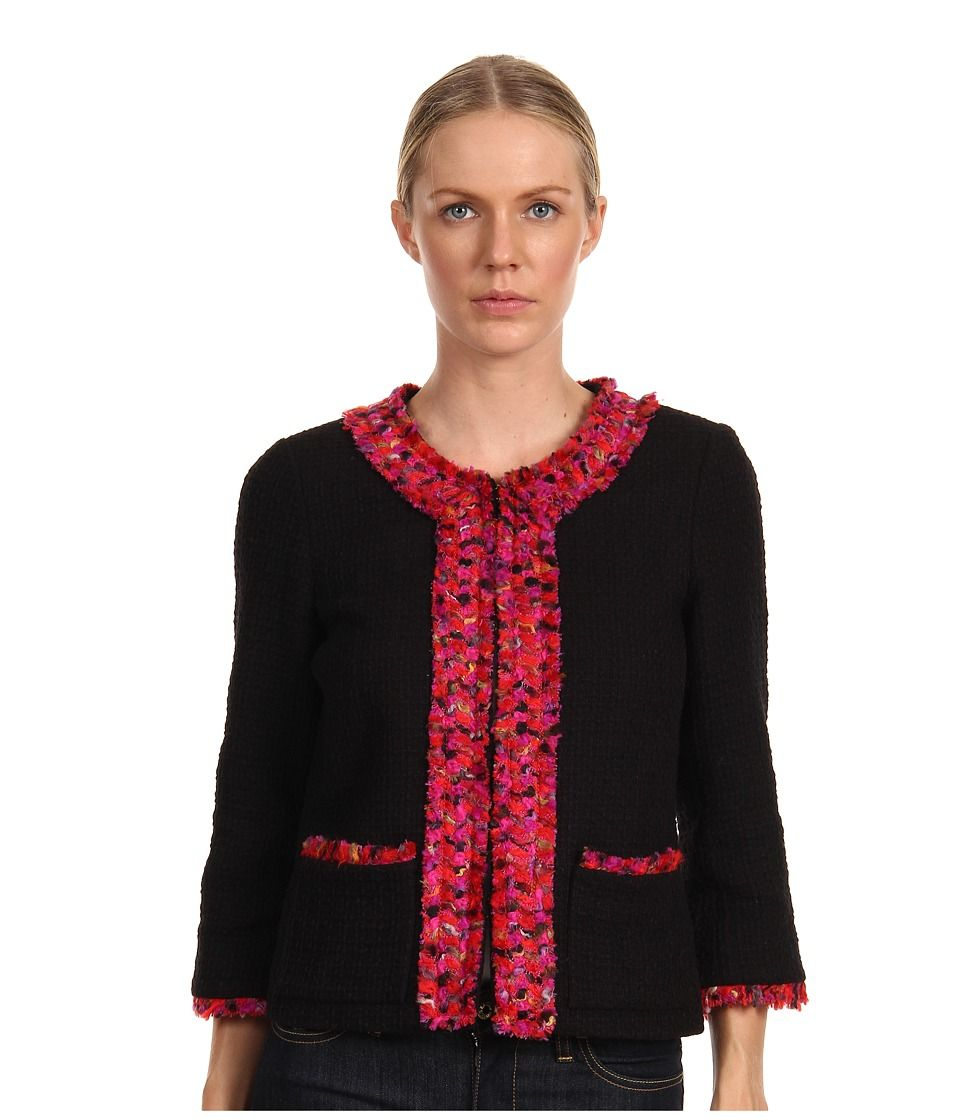 Kate Spade New York Ginnifer Jacket (Black Multi)