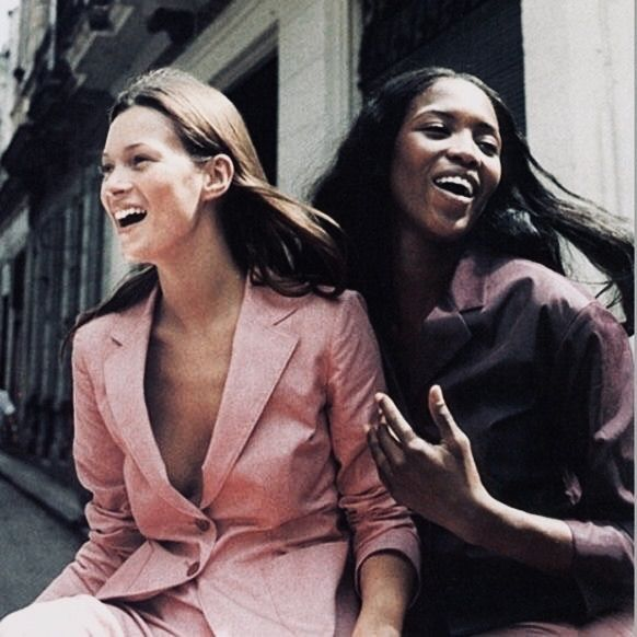 Naomi Campbell Kate Moss Flaunts Their Sizzling: Supermodels, Kate Moss, Naomi Campbell