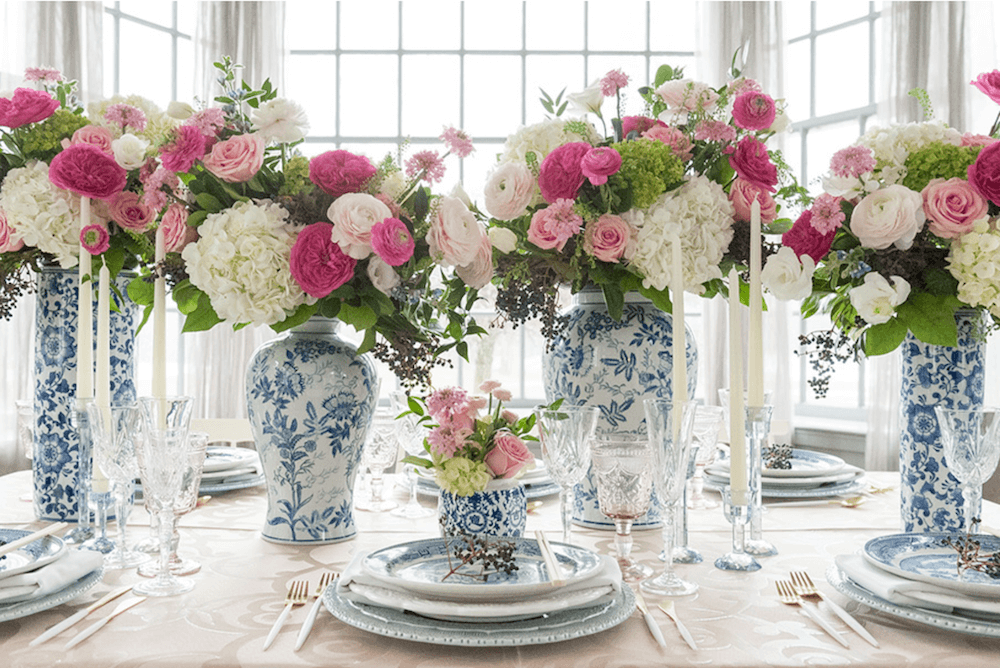 Marvelous 21 Stunning Springtime Party Table Decorations On The Blog Download Free Architecture Designs Ferenbritishbridgeorg