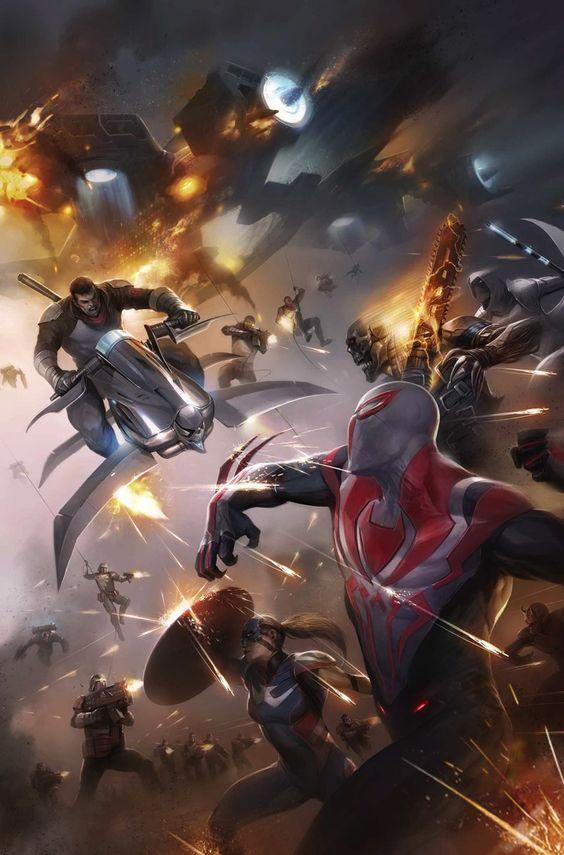 Spider-Man 2099 #16 by Franceso Mattina *