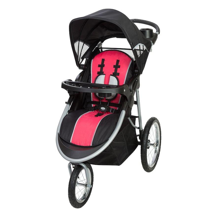 Baby Trend Pathway Jogging Stroller, Pink Jogging