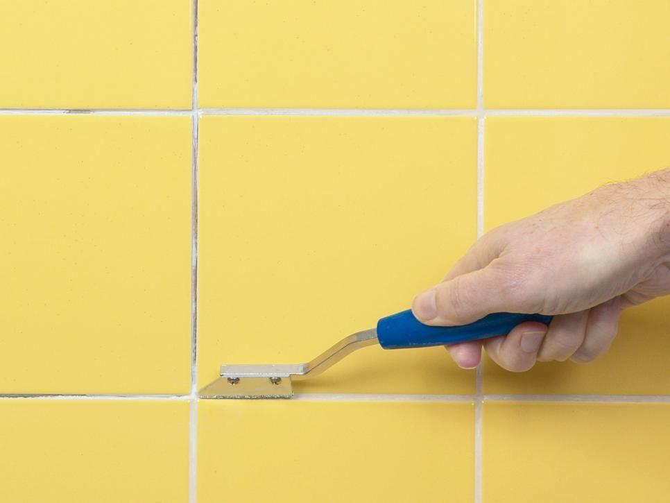 How To Repair Cracked Tiles Diy Home Repair Regrouting Tile Bathroom Repair