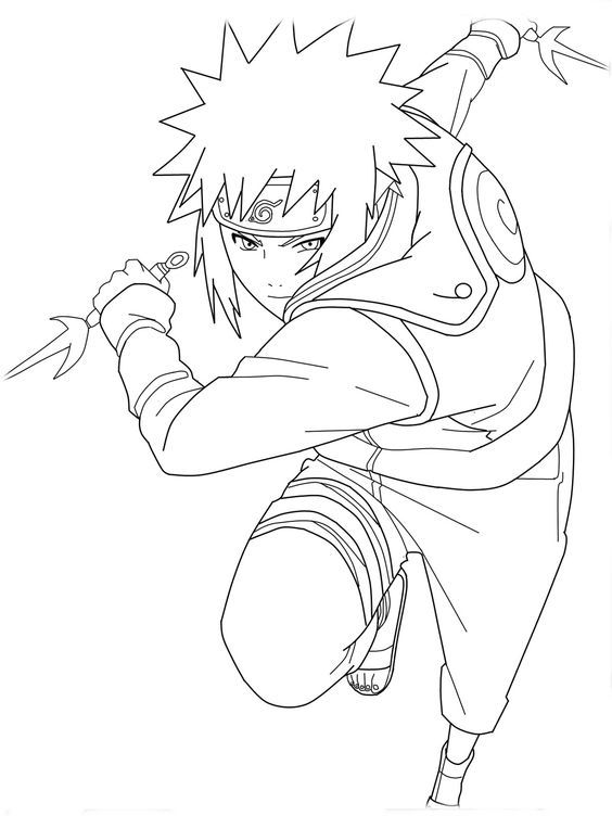 Pin By Spetri On Lineart Naruto Pinterest Coloriage Naruto